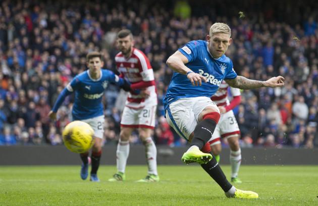 Rangers v Hamilton Academical - Scottish Cup - Quarter Final - Ibrox Stadium