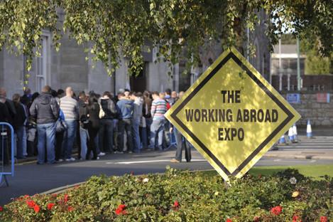 People Leaving Ireland