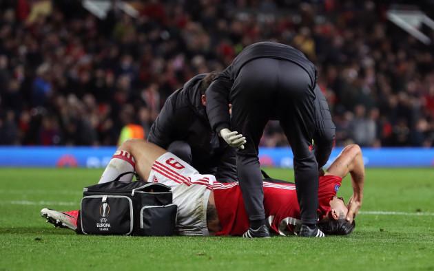 Manchester United v RSC Anderlecht - UEFA Europa League - Quarter Final - Second Leg - Old Trafford