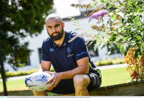 Scott Fardy Arrives at Leinster Rugby