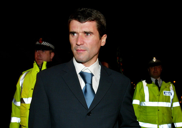 Roy Keane - Disciplinary Hearing
