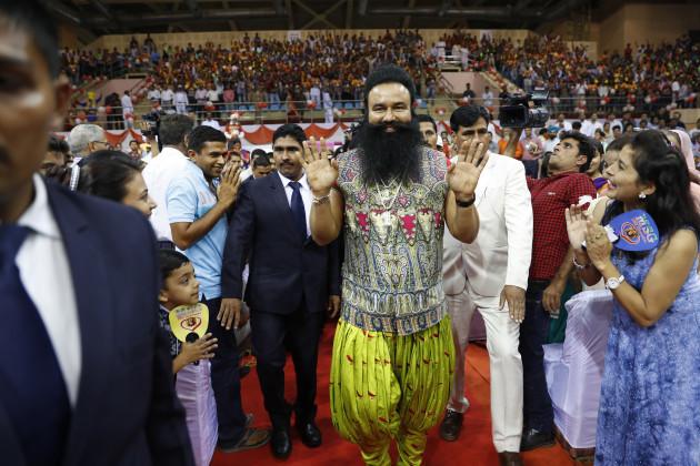 India Spiritual Guru Trial