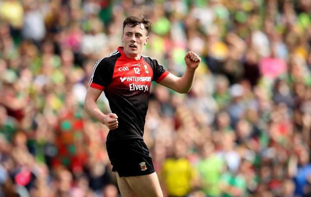 Diarmuid O'Connor celebrates scoring