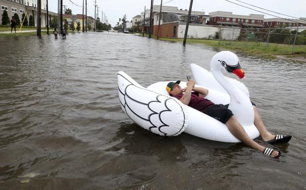 Harvey drenches Galveston