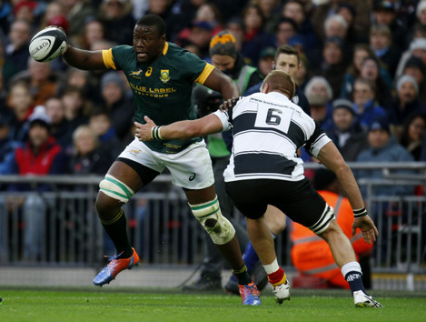 Barbarians v South Africa - Killik Cup - Wembley Stadium