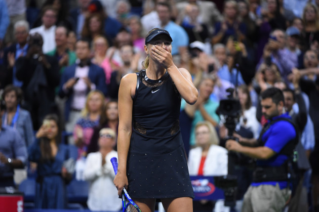Maria Sharapova Grand Slam Return At US Open - NYC