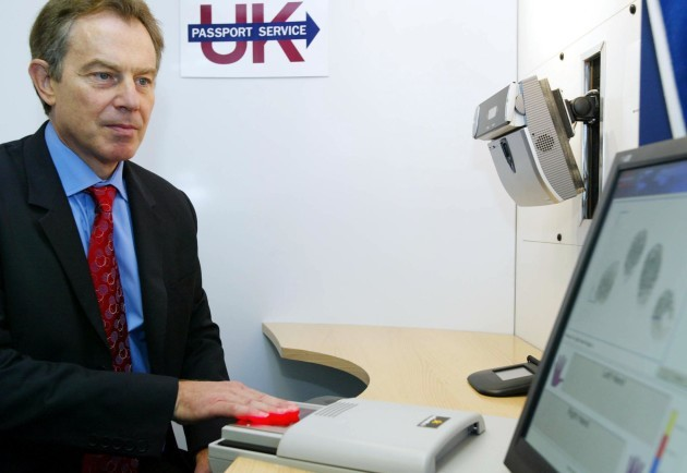 Prime Minister at the Passport Office