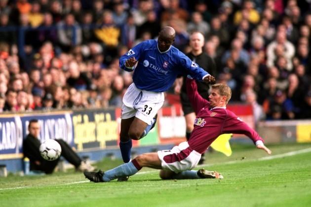Soccer - FA Barclaycard Premiership - Ipswich Town v Aston Villa