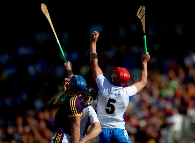 Jack Guiney with Barry Coughlan and Tadhg De Burca