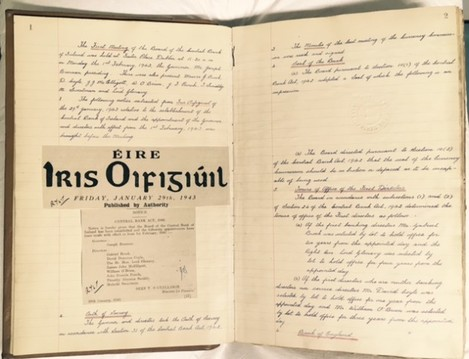 Central Bank Minute Book 1943-1945