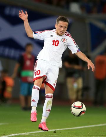 Soccer - UEFA Euro 2016 - Qualifying - Group D - Georgia v Scotland - Boris Paichadze Dinamo Arena