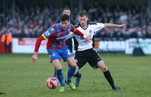 Soccer - FA Cup - Third Round - Dover Athletic v Crystal Palace - Crabble Athletic Ground