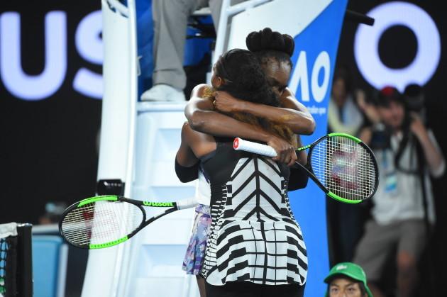 Serena Williams wins the Australian Open tennis championships - Melbourne
