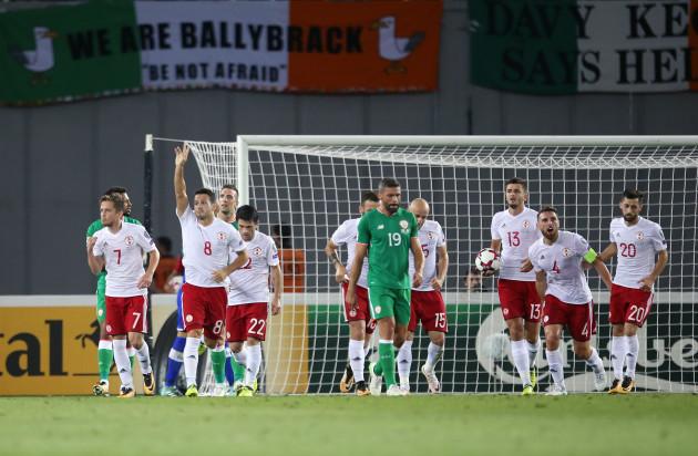 Georgia v Republic of Ireland - 2018 FIFA World Cup Qualifying - Group D - Boris Paichadze Stadium