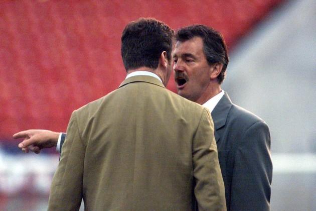Roddy Collins and Damien Richardson 14/8/2000