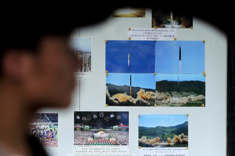 China Koreas Tensions