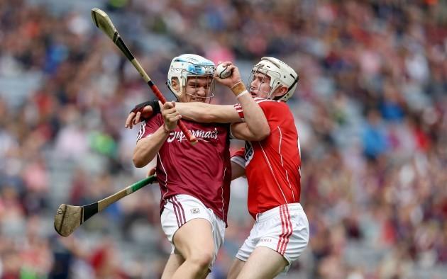 Diarmuid Linehan with Conor Walsh