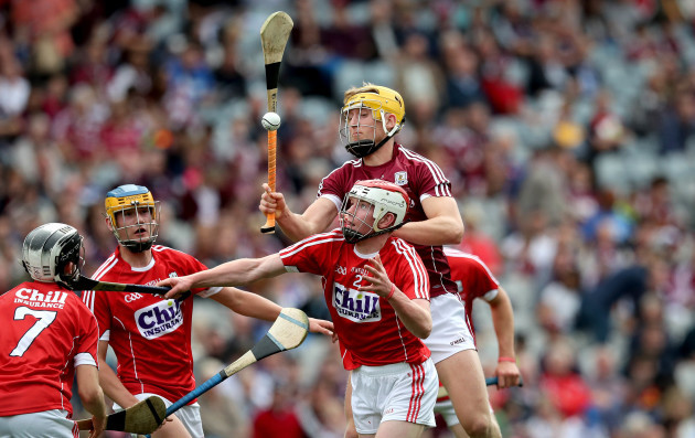 Conor O'Callaghan and Sean Bleahene