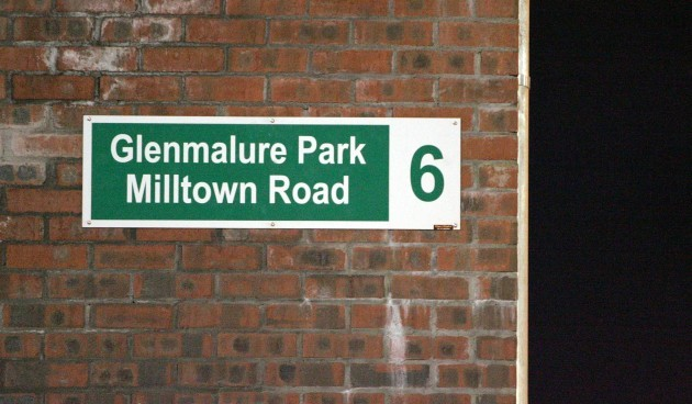 The road sign from Rovers old stadium