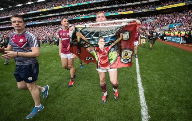 Conor Whelan celebrates