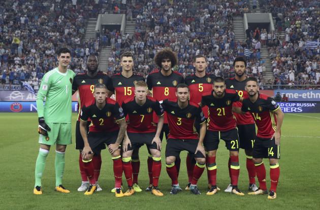 Soccer WCup 2018 Greece Belgium