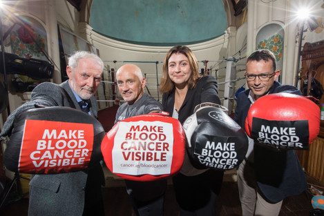 Barry McGuigan launches Blood Cancer Awareness Month-1