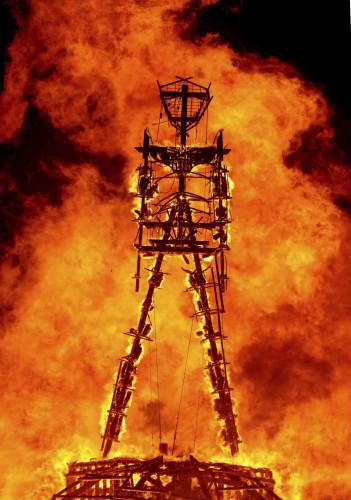 Burning Man Death