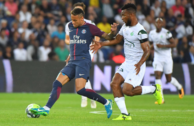 PSG vs Saint Etienne in Paris