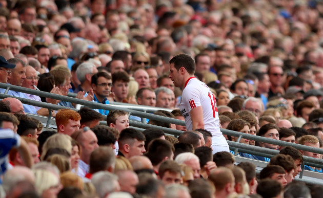 Sean Cavanagh replaced during the second half
