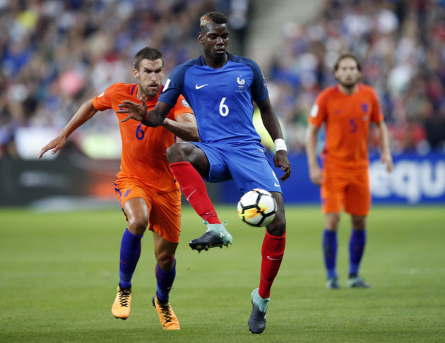 Soccer WCup 2018 France Netherlands
