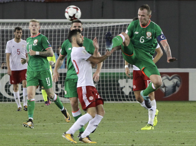 Soccer WCup 2018 Georgia Republic of Ireland