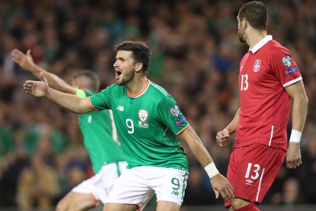 Republic of Ireland v Serbia - 2018 FIFA World Cup Qualifying - Group D - Aviva Stadium