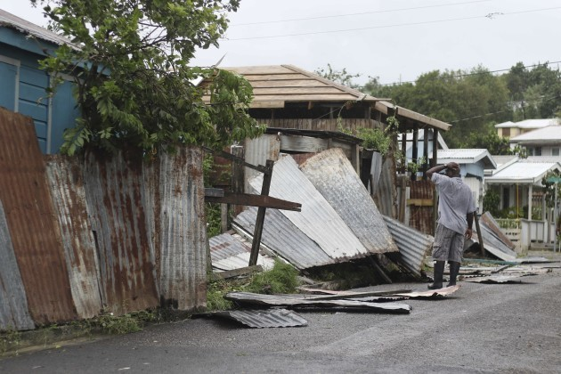 Antigua Hurricane Irma