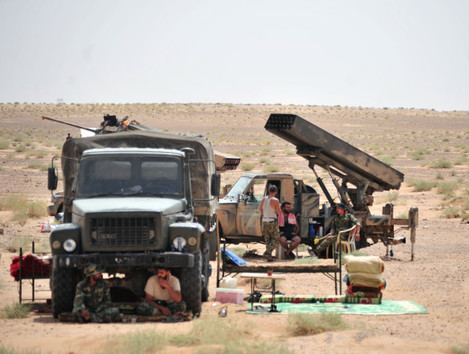 SYRIA-DEIR-AL ZOUR-ENTRANCE