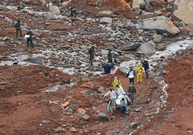 SIERRA LEONE-FREETOWN-MUDSLIDES-AFTERMATH