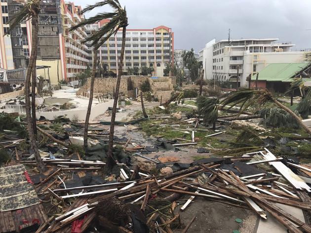 APTOPIX St. Martin Hurricane Irma