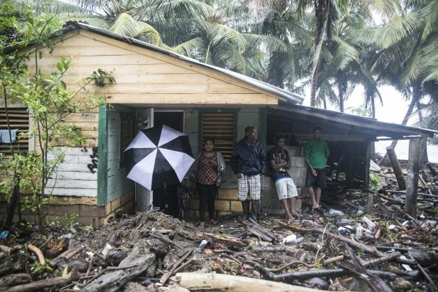 APTOPIX Dominican Republic Hurricane Irma