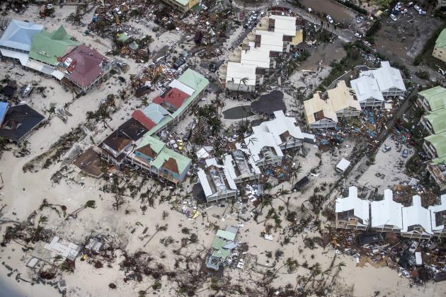 APTOPIX St. Maarten Hurricane Irma
