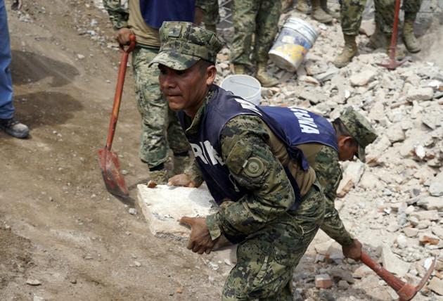 MEXICO-OAXACA-EARTHQUAKE