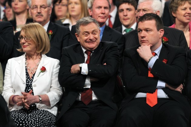File Photo Alan kelly didnt show up at Brenda Howlin's press conference as new Labour Leader.