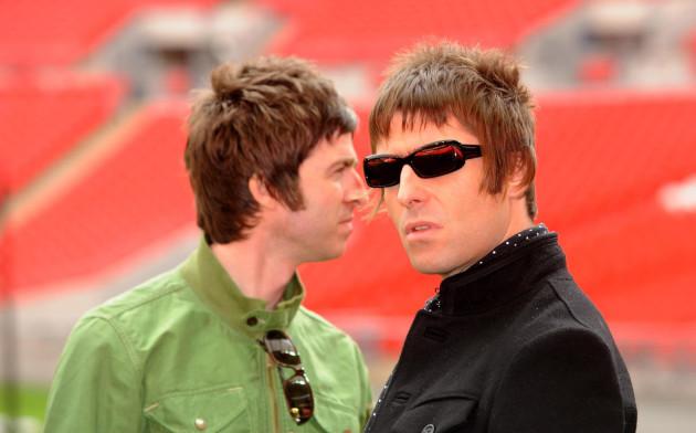 Oasis Photocall - London