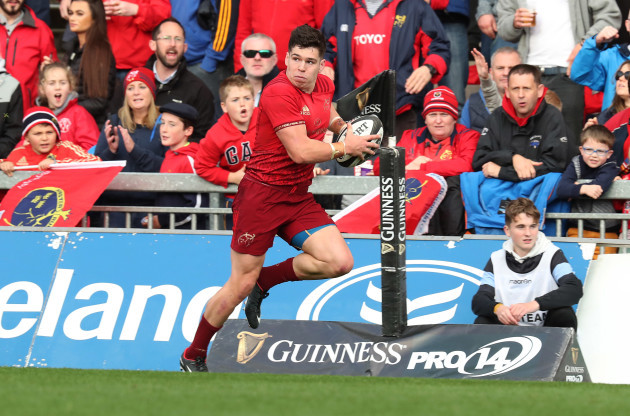 Munster's Alex Wootton