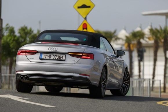 If I had the kahunas to drive a €70k convertible, the Audi