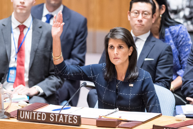 NY: United Nations Security Council Vote on Sanctions for North Korea