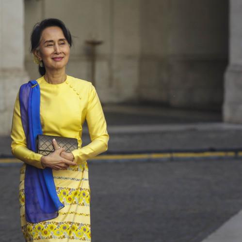 Italy: Burmese State Counsellor Aung San Suu Kyi
