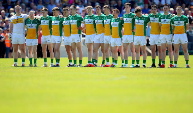 The Offaly team