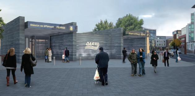 dart underground pearse station