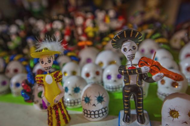 Mexico Oaxaca Day of the Dead Souvenirs-010