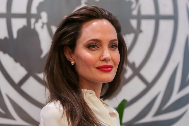 NY: Angelina Jolie at the UN