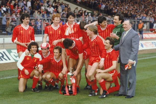 Soccer - Milk Cup Final - Liverpool v Manchester United